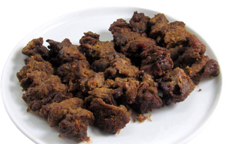 Beef sheek kabab.Made with spicies and meat are burn on fire of coal.
