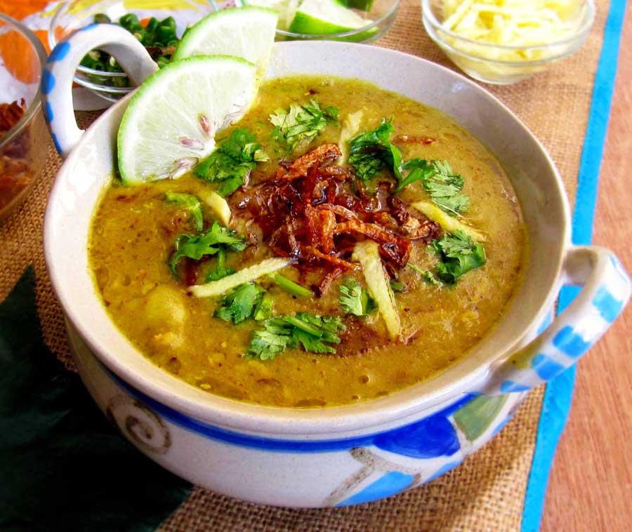 Bangladeshi street food haleem